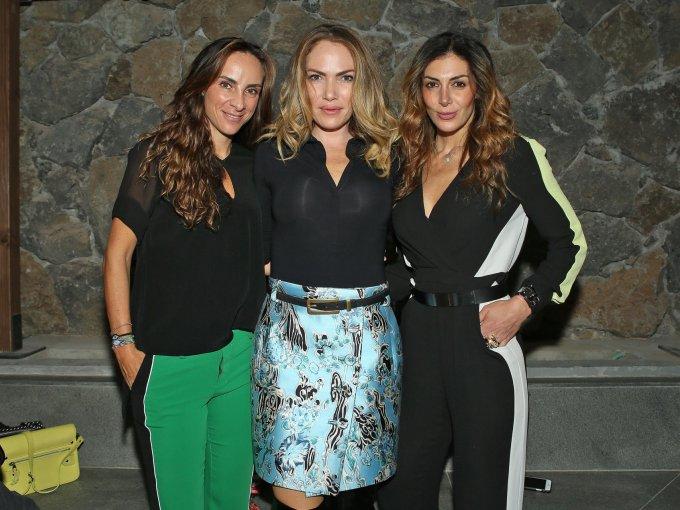 Raquel Smeke, Maggie Zaga y Victoria Anza