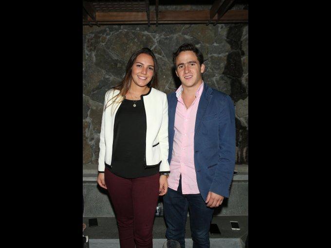 Daniela Artigas y Rodrigo Cobar