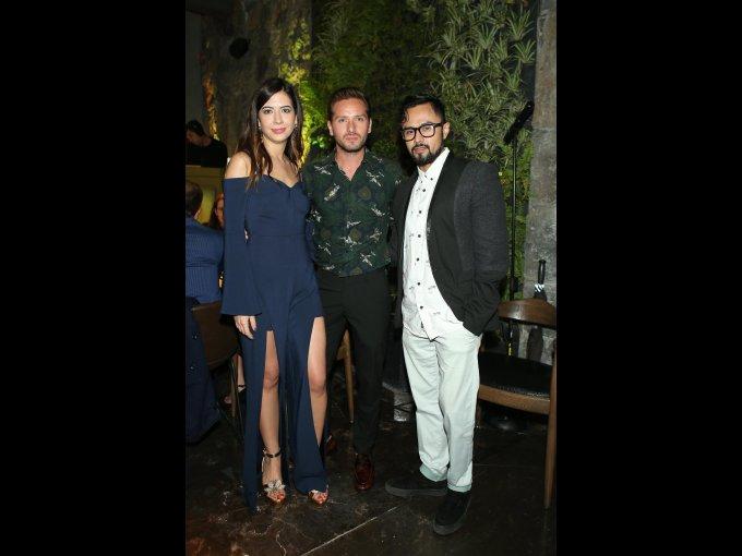 Denisse Tamez, Jorge Estrada Félix y Antonio García