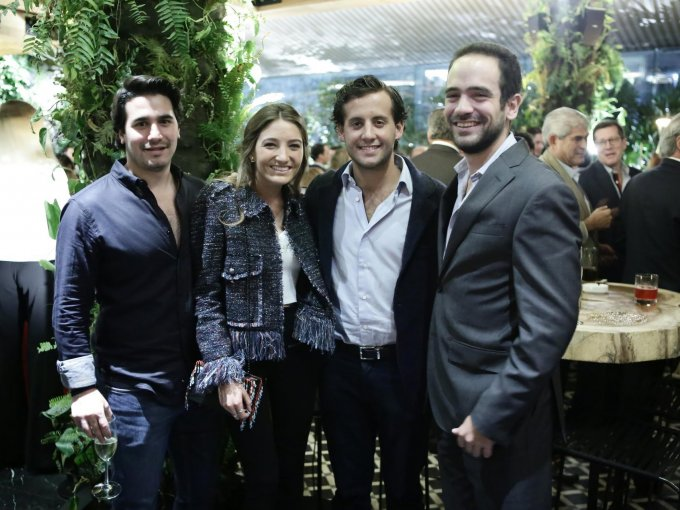 Cristhian Abad, Rocío Bandín, Juanjo Simón y Emilio Zimbrón