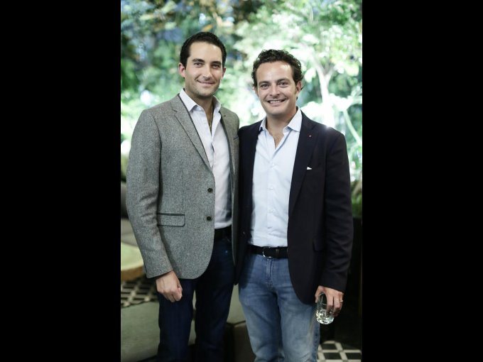 Miguel Osio y Pepe Cuaik