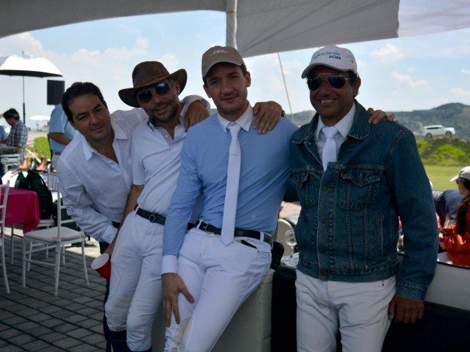 Jorge Goñi, Víctor Prats, Alejandro Figueroa y Escipion Mendivil