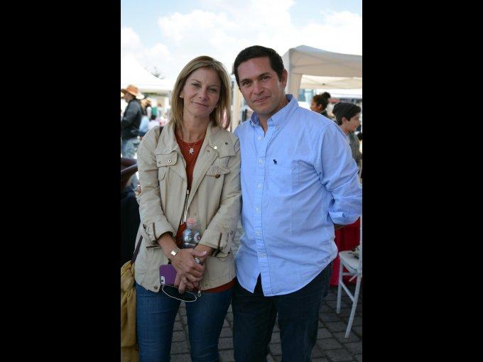 Carola Busquier y Mauricio Jaskille