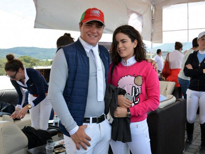 Rodrigo Enríquez y Ana Luisa Díaz