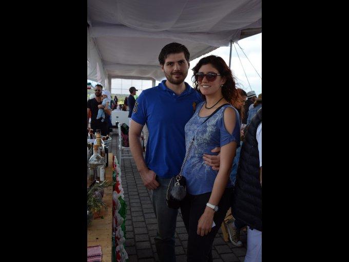 Luis Hernán y Natalia Martínez