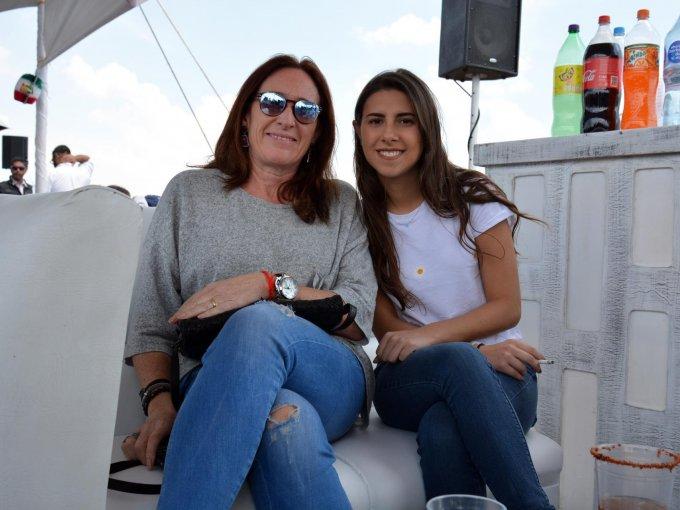 Lorenza Moreno y Pamela Ralph