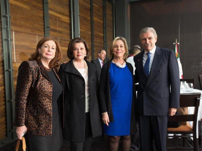 Diana López Parra, Susana Bernardi, Lourdes Ascencio y Luis Gálvez