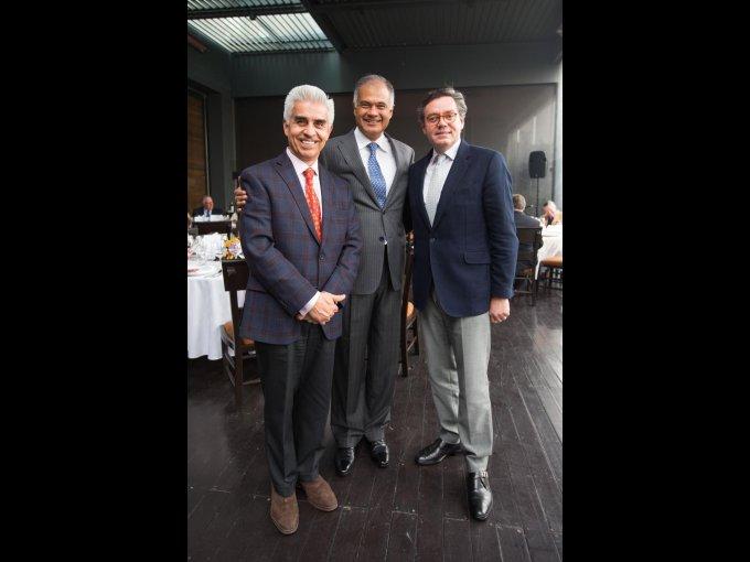 Juan Carlos Domenzain, José Ignacio Rubio y Alejandro Vera