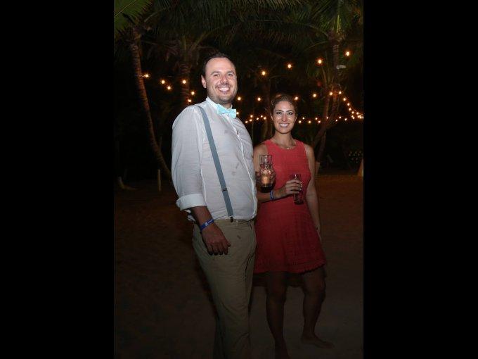 Rodrigo Cabrero y Sofía Autrey