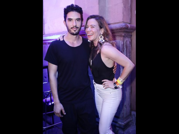 Gago Ibarra y Grace Ramírez
