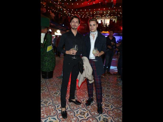 Pablo Gamboa y Javier Zenil