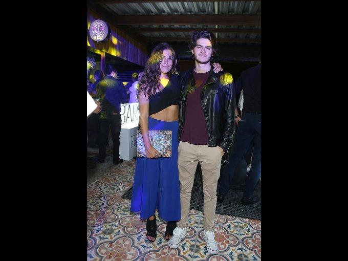 Daniela Cárdenas y Miguel Paniza