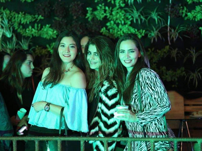 Tania González, Romina Reyes y Valeria Parra