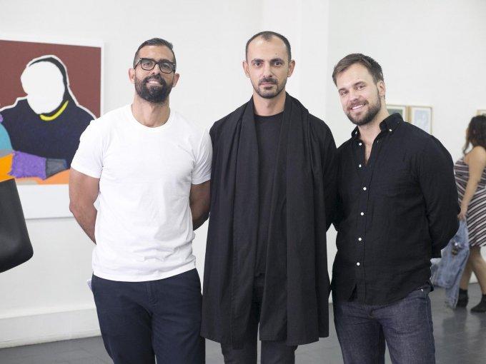 Sam Bigio, Tiago Pinto y Adam Hurly