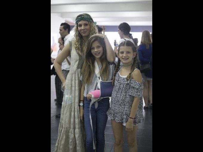 Zarina, Hannah y Tamara Rivera