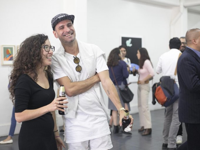 Andrea Bustillos y Héctor Madera