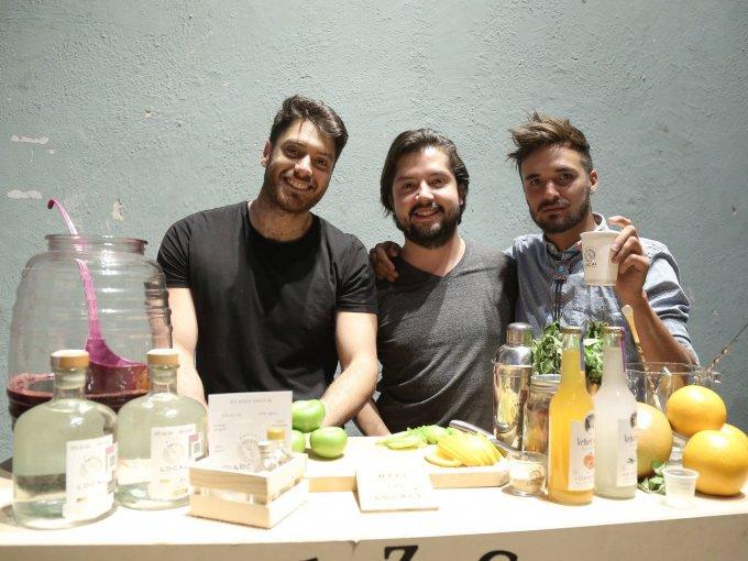 Alex Arguete, Eduardo Carreño y Gabriel Luis