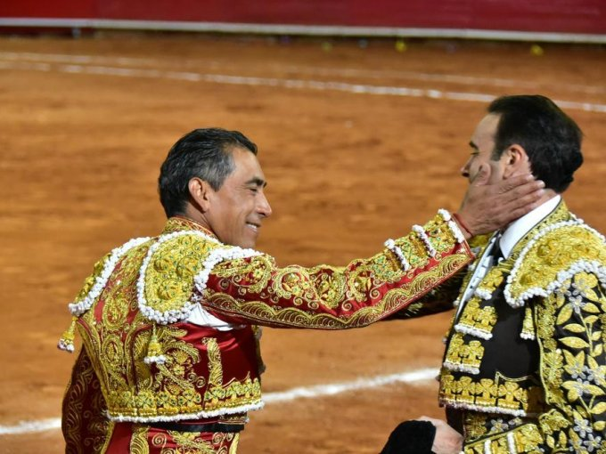 Eulalio López 'El Zotoluco' y Enrique Ponce