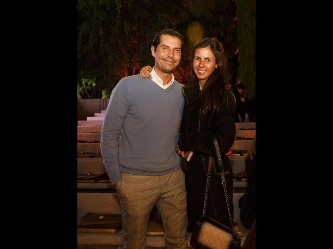 Diego Rionda y Alejandra Chedraui