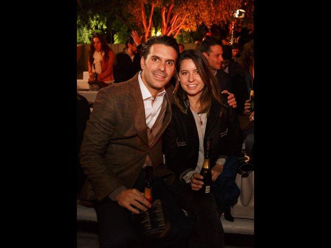 Carlos Seoane y Marimar Morayta