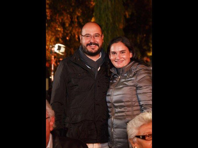 Mario Simonett y Adriana Vargas