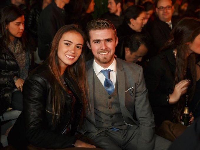 Ivana Tommasi y Manuel Gurría