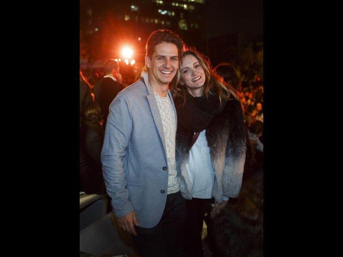 Bobby Domínguez y Ximena Seoane