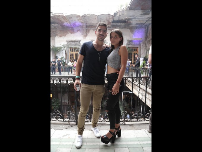 Isaac Kichik y Jacqueline Kalach