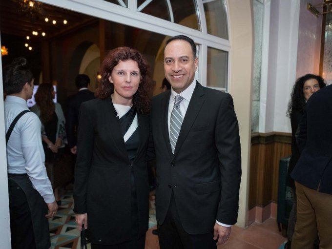 Beata Mojna y Carlos Mota