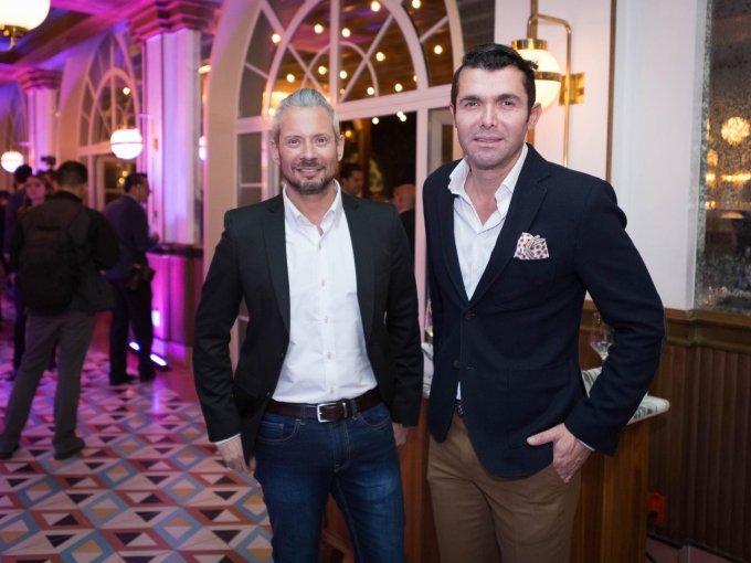 Guillermo Rojas y Lorenzo Ruiz