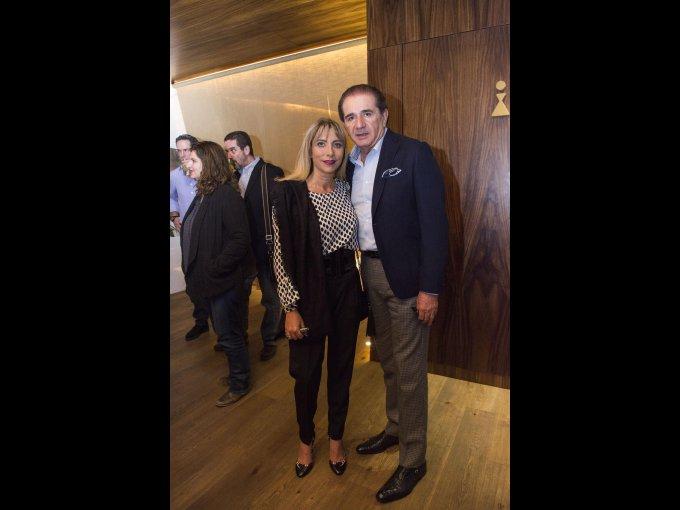 Raquel Sidauy y José Sidauy
