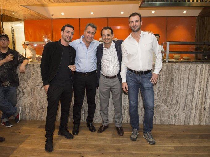 Simón Miz, Sami Miz, Elías Murciano y José Luis Esteban