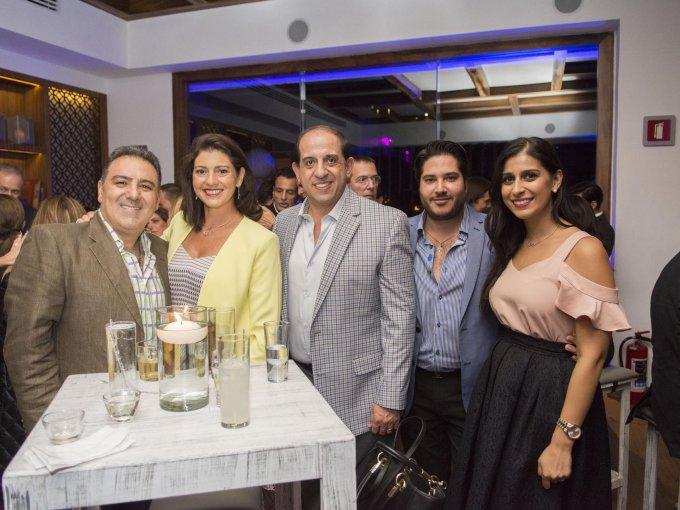 Jacobo Jajati, Lisette Jajati, Alfredo Bejos, Fredy Cecin y Yamel Bejos