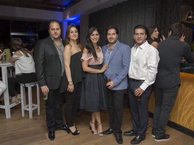 Jorge Miguel Cecin, Karen Bejos, Yamel Bejos, Alfredo Cecin y Omar Said
