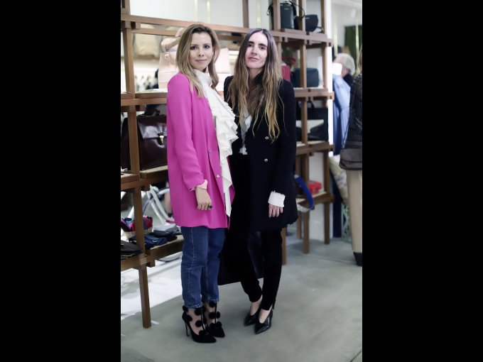 Alma García y Alejandra Martínez