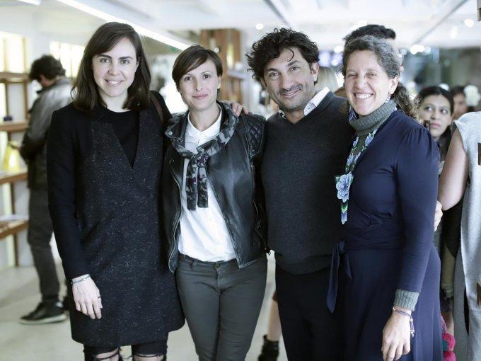 Ytzia Belausteguigoitia, Fernanda Roel, David Jasaan y Michelle Button
