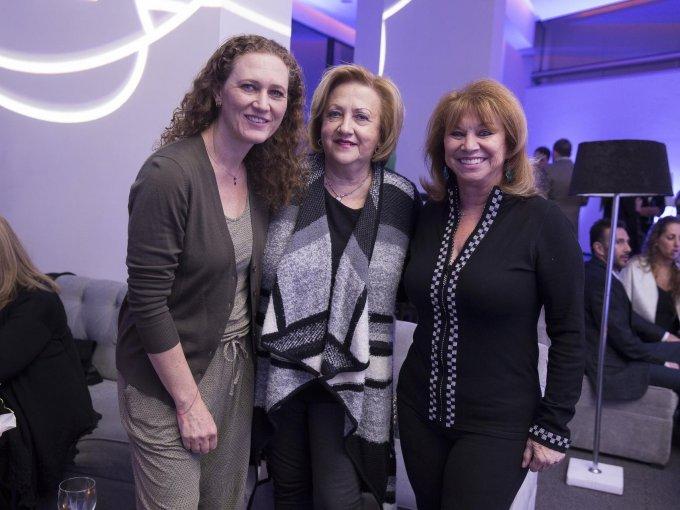 Nily Romano, Naty Okon y Miriam Feldman