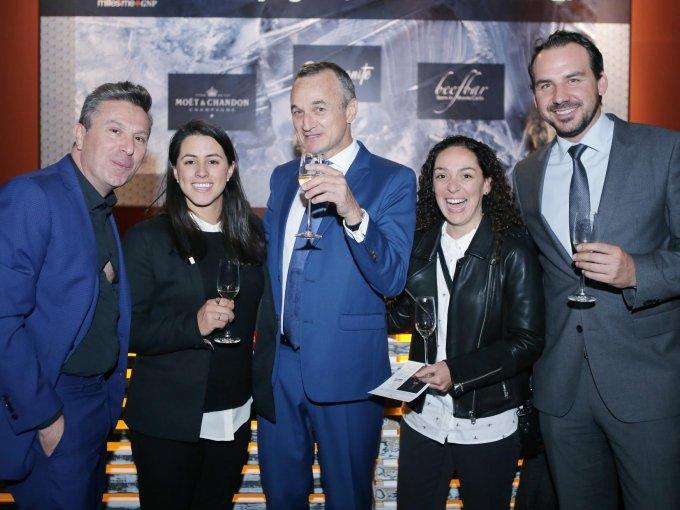 Rafael Micha, Alejandra Ríos, Christian Valdelièvre, Mercedes Sáenz y Matt Sion