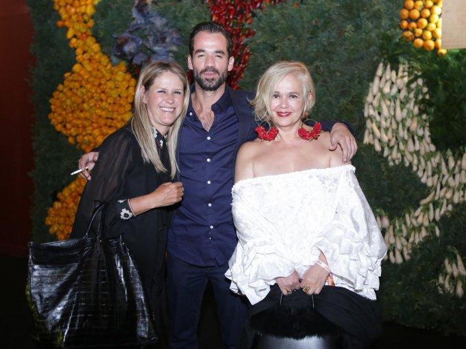 Claudia García, Erik Taracena y Margot Olivera