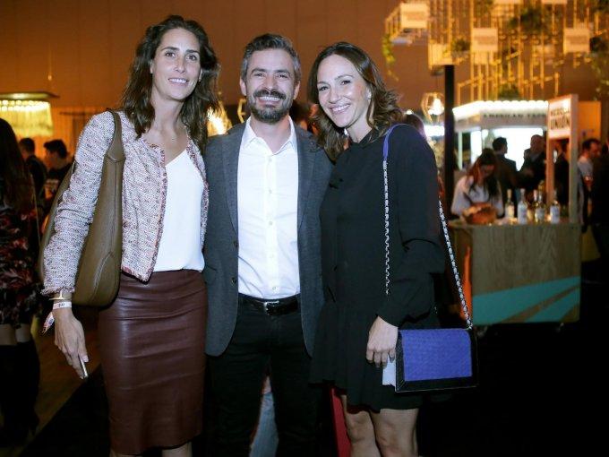 Casilda Chico, Ricardo Puentes y Mariana Baños