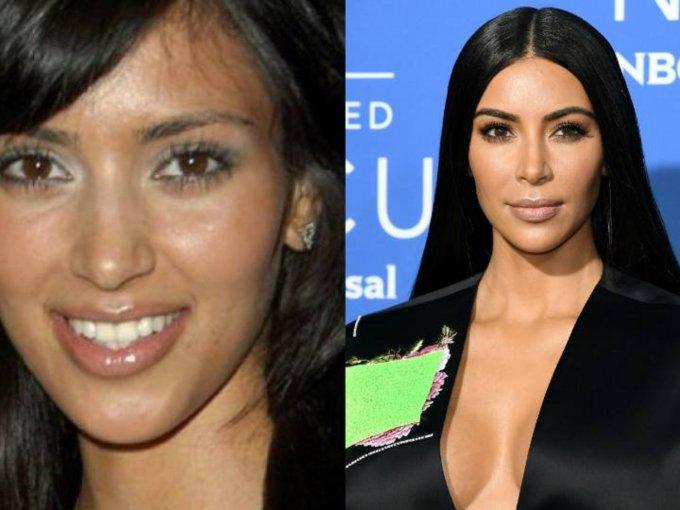 Kim Kardashian: se calcula que la famosa ha gastado alrededor de 20 mil dólares.