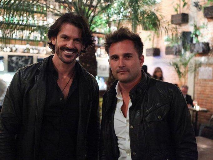 Rodrigo Rinaldini y Luis Quiroz