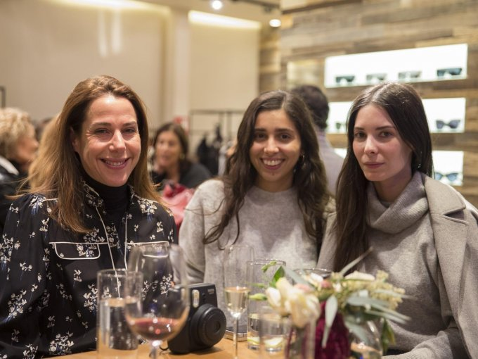 Ruth Ovseyevitz, Alexia Ramírez e Inés Abouchard