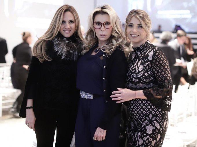 Lilian Gutiérrez, Chely Lerdo de Tejada y Gabriela Sánchez