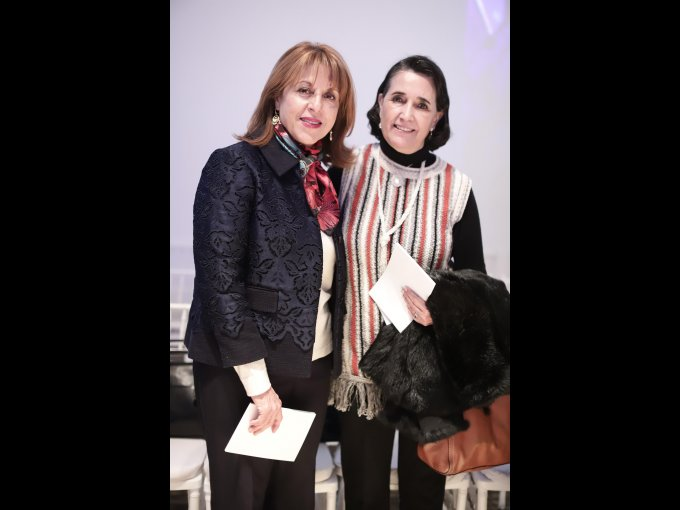 Tere López Velarde y Susana Rena