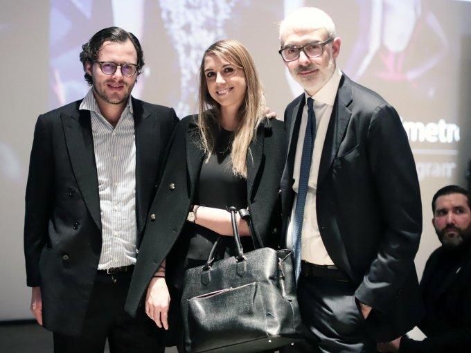 Gennaro Esposito, Mónica Velasco y Lupo Lanzani