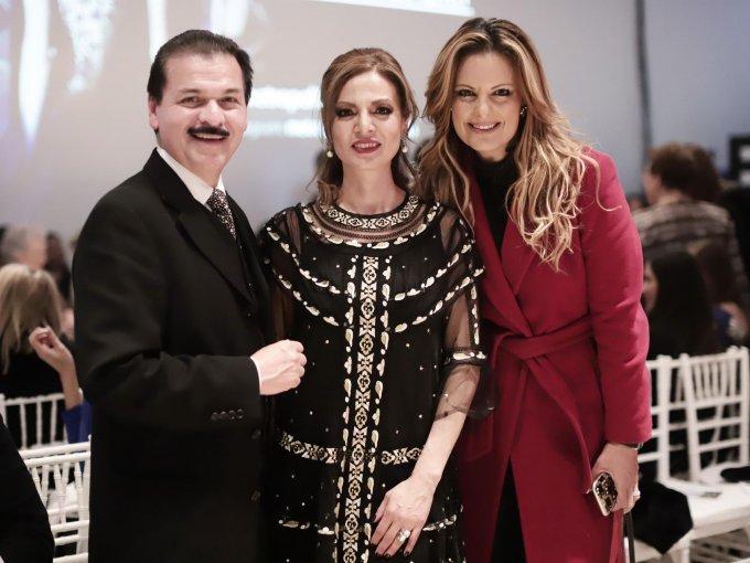 Gerardo Chávez, Yamel Guerra y Alejandra del Río