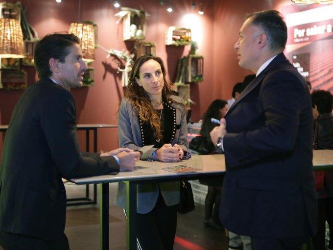 Abelardo Marcondes, Raquel Smeke y Arturo Reyes