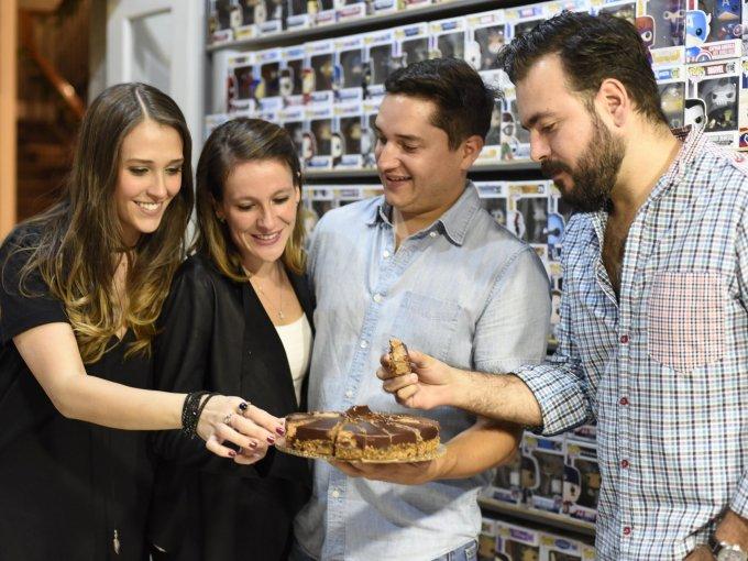 Claudia Padilla, Paola Sánchez, Imanol Huerta y Gerardo Torre