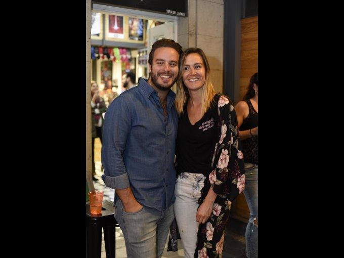 Jonathan Picard y Grisel Sandoval